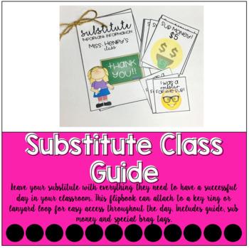 Substitute Class Guide