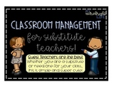 Substitute Classroom Management System