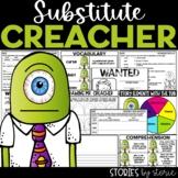 Substitute Creacher | Printable and Digital