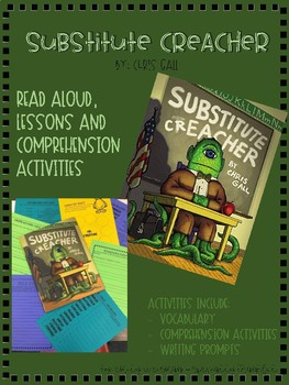 """Substitute Creacher"" Literacy Activities"