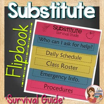 Substitute Flipbook {Editable}