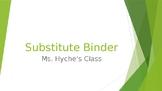 Substitute Folder