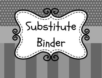Substitute Folder/Binder Dividers