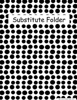 Substitute Folder Freebie