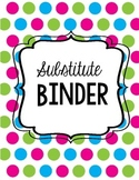 Substitute Binder- Full
