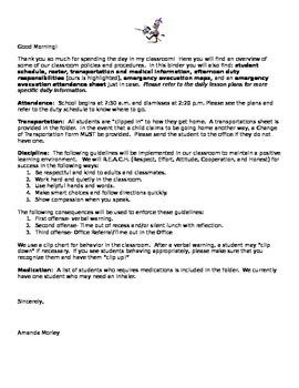 Substitute Folder Letter
