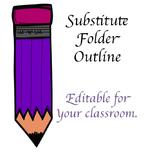 Substitute Folder Outline
