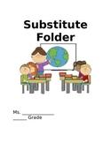 Substitute Folder Template