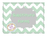 Substitute Forms