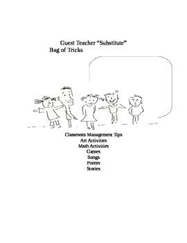 """Substitute """"Guest Teacher"""" """"Bag of Tricks"""""""