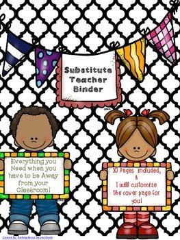 Substitute/Guest Teacher Binder