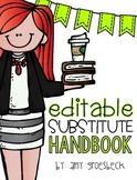 Substitute Handbook - EDITABLE