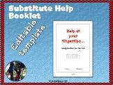 Substitute Helpbook - Help at your fingertips booklet