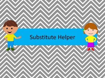 Substitute Helper