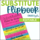 Substitute Info Flipbook (Editable Flip Book)