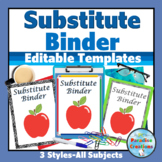 Substitute Information Binder      A Detailed Approach for