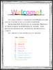 Substitute Information Book (EDITABLE)