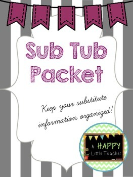 Substitute Information Packet