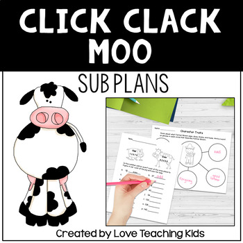 Click Clack Moo Cows That Type Sub Plans