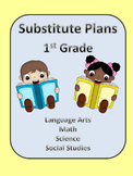 Substitute Lesson Plans for First Grade
