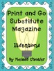 Substitute Magazines for Grades 4 and 5- An organized day for your substitute