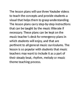 Substitute Music Teacher Lesson Plans Using Super Heroes Theme