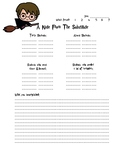Substitute Note Template - MS/HS