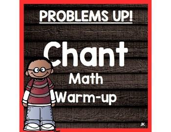 Math Chant- Problems Up!