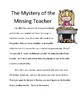 Substitute Packet Full day (NO PREP) The Mystery of the Missing Teacher