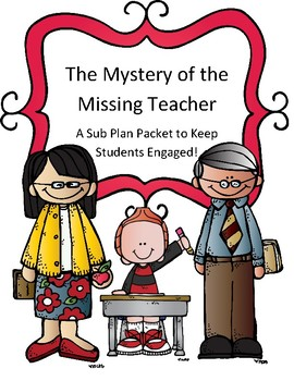 missing teacher teaching resources teachers pay teachers rh teacherspayteachers com substitute teacher clip art images Substitute Teacher Humor