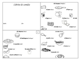 Substitute Plans (2 days)--Spanish Food Vocabulary Book & Real Life Application