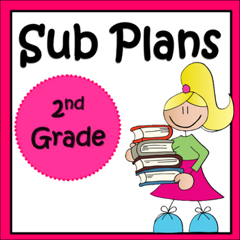 Substitute Plans: 2nd Grade