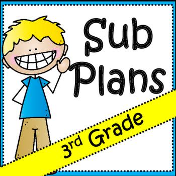 Substitute Plans: 3rd Grade