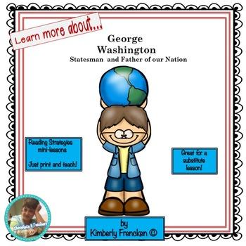 George Washington:  Non-Fiction Reading Skills Mini-lesson