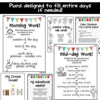 Substitute Plans Emergency - Sub Plans