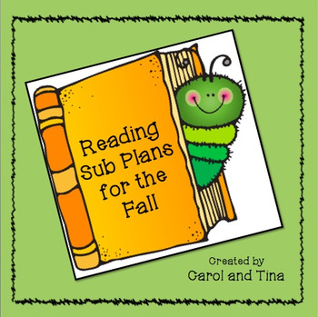 Substitute Plans: Reading Plans for Primary Classrooms-Mat