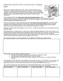 Substitute Plans Template