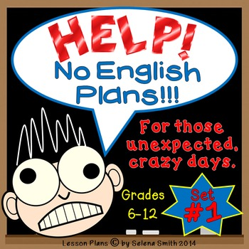 Sub Plans for Middle School and High School English