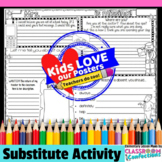 Substitute Activity Poster