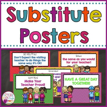 Substitute Posters-FREE