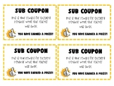 Substitute Reward Coupon