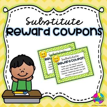 Substitute Reward Coupons