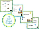 Substitute Smart Notebook Template  - Images of Procedures for Sub