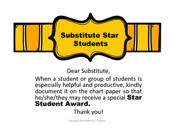 Substitute Star Students