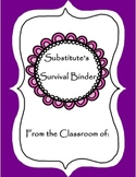 Substitute Survival Binder