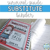 Substitute Survival Guide {Editable}