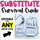 Substitute Survival Guide | *Editable* | PowerPoint & Google Drive
