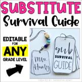 Substitute Survival Guide | *Editable* | PowerPoint & Goog