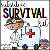 EDITABLE Substitute Survival Kit: Sub Tub