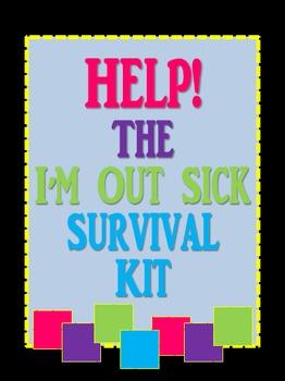 Substitute Survival Kit {Editable}